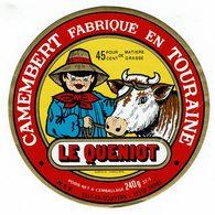 Et Camembert De Touraine - LE QUENIOT Avec Sa Vache ! - Fromage