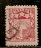 LETTONIE      N°   98  OBLITERE - Latvia