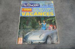 Magazine L'automobile N°231 Juillet 1965 - 2 Essais Avec Radio Monté-Carlo - - Auto/Moto