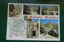 LOZERE CARTE DEPARTEMENT NON ECRITE  EDITIONS CELLARD BRON CD27 REF Z798231 EB 50438M - France