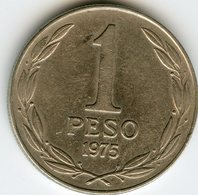 Chili Chile 1 Peso 1975 KM 207 - Chile