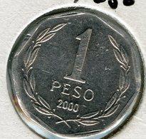 Chili Chile 1 Peso 2000 KM 231 - Chile