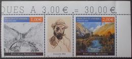 FD/3361 - 2004 - ANDORRE - TRIPTYQUE N°599 à 600 TIMBRES NEUFS** ☛☛☛ DEPART A MOINS DE 15% DE LA COTE CATALOGUE - Andorre Français
