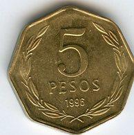 Chili Chile 5 Pesos 1996 KM 232 - Chili
