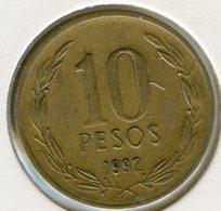 Chili Chile 10 Pesos 1992 KM 228.2 - Chile