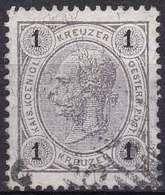 Autriche YT 46 Année 1890 - François-Joseph 1er (Used °) - Usados