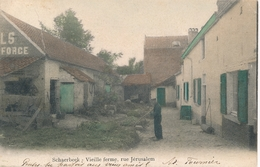 CPA - Belgique - Brussels - Bruxelles - Schaerbeek - Vieille Ferme - Rue Jérusalem - Schaarbeek - Schaerbeek