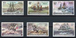 NORFOLK ISLAND SHIPWRECKS I And II (NAUFRAGES I Et II)  Mint Never Hinged MNH (Neufs Sans Charnières **) Cote 10.5€ - Norfolk Island