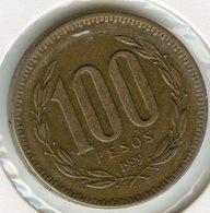 Chili Chile 100 Pesos 1999 KM 226.2 - Chile