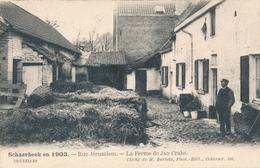 CPA - Belgique - Brussels - Bruxelles - Schaerbeek - Rue Jerusalem -, La Ferme De Jan Crabs - Schaarbeek - Schaerbeek