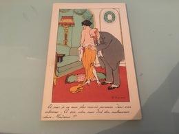Ancienne Carte Postale - Illustrateur - F.Fabiano - Fabiano