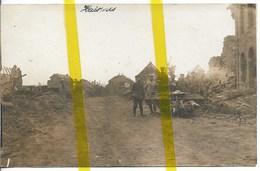 62 PAS DE CALAIS HAISNES Canton DOUVRIN CARTE PHOTO ALLEMANDE MILITARIA 1914/1918 WK1 WW1 - Altri Comuni