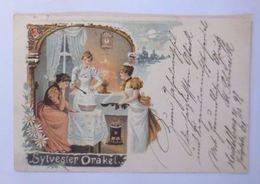 """""""Neujahr, Silvester Orakel, Bleigießen""""  1897 ♥  - Anno Nuovo"""