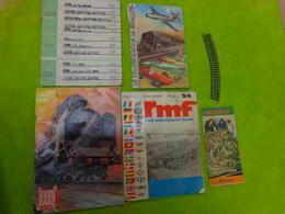 Lot De Catalogues Et Revue-rmf- Jouef-marklin- Des Annees 60 Pour Jouef 73-74 - Altre Collezioni
