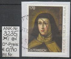 "28.3.2015 - SM ""500. Geburtstag Heilige Teresa V. Avila"" - O Gestempelt Auf Briefstück - Siehe Scan  (3235o ABs) - 1945-.... 2. Republik"