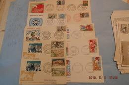 Lot +150 Fdc Afrique +cartes -maximum +lettres ....mali Cameroun Tchad Mauritanie Dahomey Et Autres 36scans - Stamps