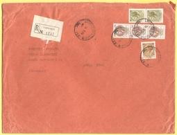 ITALIA - ITALY - ITALIE - 1974 - 2 X 50 + 3 X 100 + 30 Siracusana - Dott. Curbastro - Raccomandata - Viaggiata Da Caprio - 6. 1946-.. Repubblica
