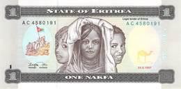 One Nakfa Eritrea 1997 UNC - Eritrea