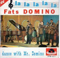 Disque De Fats Domino - LA-LA-LA - Polydor 27743 - 1962 - - Jazz