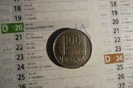 Pièces De L'Algérie Française De 50 Francs 1950 En Cupro-nickel - S U P - - Algeria