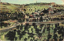Jerusalem (Israël) Le Mont Des Oliviers (Mount Of Olives) Carte N° 18219 Non Circulée - Israele