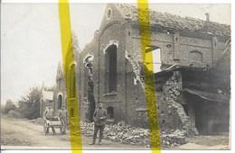 59 NORD FROMELLES Canton ANNOEULLIN CARTE PHOTO ALLEMANDE MILITARIA 1914/1918 WK1 WW1 - Autres Communes