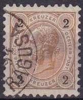 Autriche YT 47 Année 1890 - François-Joseph 1er (Used °) - Usados