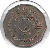 *irak 1 Fils 1959 Km 119 Unc - Iraq