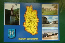 MEUSE CARTE DEPARTEMENT ECRITE EDITIONS (EUROP PIERRON  SARREGUEMINES )    REVIGNY SUR ORNAIN - France