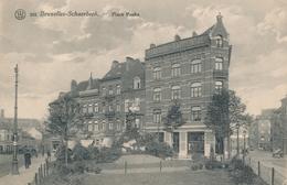 CPA - Belgique - Brussels - Bruxelles - Schaerbeek - Place Poche - Schaarbeek - Schaerbeek