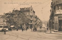 CPA - Belgique - Brussels - Bruxelles - Schaerbeek - Chaussée De Haecht Et Rue Ernest Laude - Schaarbeek - Schaerbeek