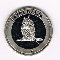 //   SOUVENIR-PENNING PAIRI DAIZA  AREND - Elongated Coins