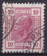 Autriche YT 86 Année 1904 - François-Joseph 1er (Used °) - Usados