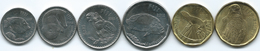Fiji - 2012 - 5, 10, 20 & 50 Cents; 1 & 2 Dollars (KMs 332-337) - Fiji