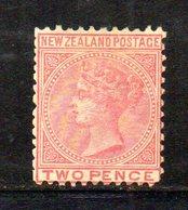 APR1038 - NEW NUOVA ZELANDA 1873 , Vittoria Yvert N. 53 Nuovo Senza Gomma. NZ/star - 1855-1907 Crown Colony