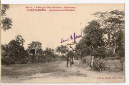 Af048 Peu Commun Dahomey PORTO-NOVO Avenue De L'HOPITAL 03.1910 A.O.F Dahomey à BECH Institutrice St Chamas FORTIER 300 - Dahomey