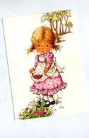 Carte Fille Kathy Fraise    Cachet Saint Louis Sur Croix Rouge + Rechesy - Scherenschnitt - Silhouette