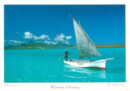 L'Ile Maurice - Mauritius - Bateaux - Pointe D'Esny - Moderne Grand Format - état - Mauritius