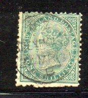 APR1048 - NEW NUOVA ZELANDA 1873 , Vittoria Yvert N. 57  Usato. NZ/star (2380A) - 1855-1907 Colonia Britannica
