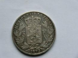 Monnaie De Belgique - 5 Francs Léopold II 1873 Argent - 09. 5 Francs