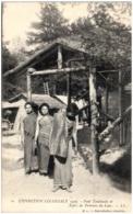 75 PARIS - EXPOSITION COLONIALE - Pont Tonkinois Et Types De Femmes Du Laos - Tentoonstellingen