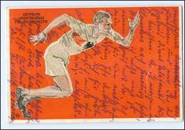 U6735/ Olympia Fonds - Dt. Sportbehörde Für Leichtathletik 1928 Künstler AK  - Cartes Postales