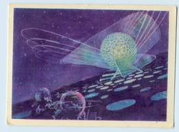 W9X61/ Raumfahrt Satelliten Rußland AK 1963 - Russia