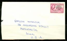 Ghana, Ancien Gold Coast; Timbre Scott # 8. Courrier Vers Les USA (0360) - Ghana (1957-...)