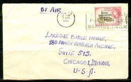 Ghana, Ancien Gold Coast; Timbre Scott # 11. Courrier Vers Les USA (0361) - Ghana (1957-...)