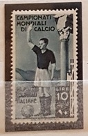 Emissioni Generali 1934 Calcio 10 L. MNH - General Issues