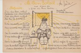C.P.A. - LE BON SOLEIL - SUR L'AIR DE J'AI DU BON TABAC - J'AI DU BON SOLEIL DEDANS MA CHAMBRETTE J'AI DU BON SOLEIL AS - Fairy Tales, Popular Stories & Legends