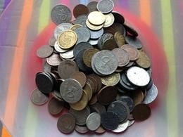 ALLEMAGNE Lot De Monnaies Plus De 300 Monnaies Très Bon état Général - [ 4] 1933-1945 : Troisième Reich