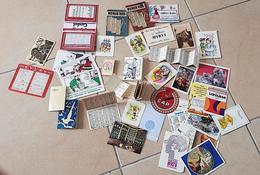 LOT De 41 Calendriers Publicitaires: Années 40 à 90.(1938 à 1993) FRAIS DE PORT INCLUS (calendrier, Calendriers) - Calendriers