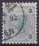 Autriche YT 48 Année 1890 - François-Joseph 1er (Used °) - 1850-1918 Empire